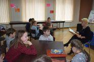 Świąteczna lekcja biblioteczna kl IIb